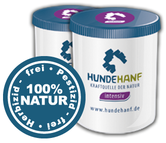 hundehanf in weißer verpackt